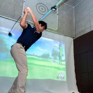室内ゴルフ練習場運営実績のイメージ
